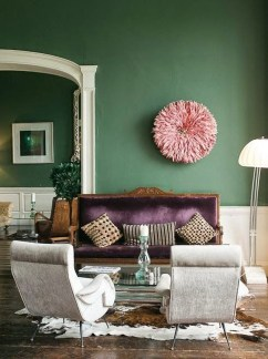 Popular Velvet Sofa Designs Ideas For Living Room 49