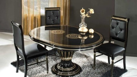 Striking Round Glass Table Designs Ideas For Dining Room 27
