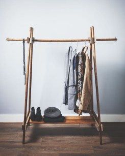 Stunning Clothes Rail Designs Ideas 17