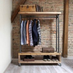 Stunning Clothes Rail Designs Ideas 32
