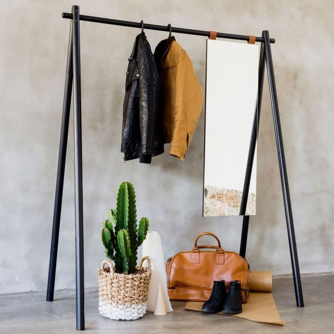 Stunning Clothes Rail Designs Ideas 48