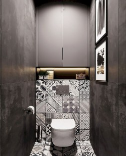 Unusual Small Bathroom Design Ideas 19