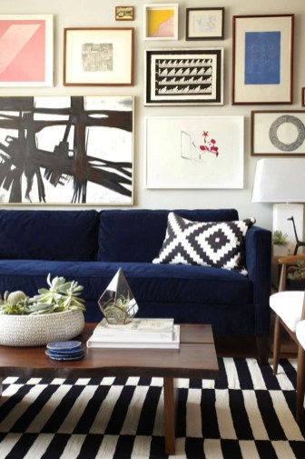 Catchy Living Room Designs Ideas With Bold Black Furniture 01