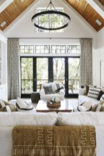 Catchy Living Room Designs Ideas With Bold Black Furniture 13