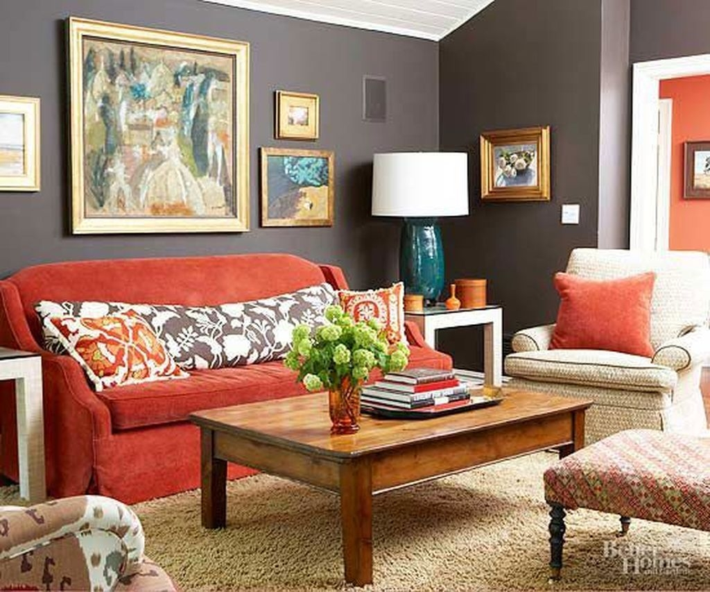 Catchy Living Room Designs Ideas With Bold Black Furniture 36