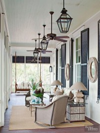 Comfy Porch Design Ideas For Backyard 10
