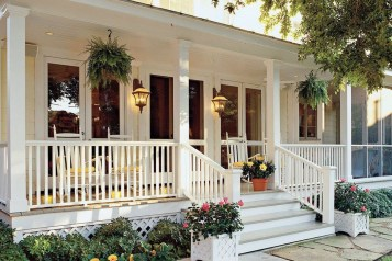Comfy Porch Design Ideas For Backyard 15