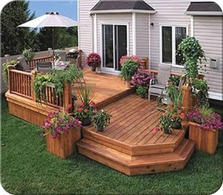 Comfy Porch Design Ideas For Backyard 16