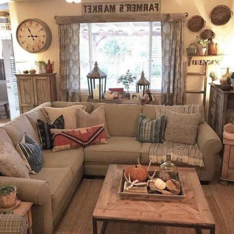 Cool Traditional Farmhouse Decor Ideas For House 20
