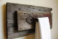 Cozy Small Bathroom Ideas With Wooden Decor 43