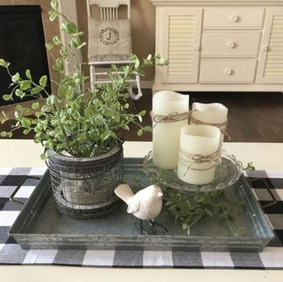Cute Farmhouse Table Design Ideas Which Is Not Outdated 43
