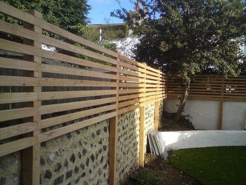 Cute Garden Fences Walls Ideas 29
