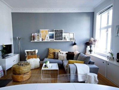 Enchanting Living Rooms Ideas With Combinations Of Grey Green 34
