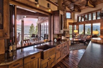 Fabulous Home Design Ideas With Wooden Accent 09