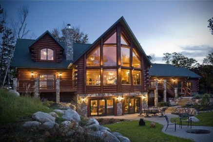 Fabulous Home Design Ideas With Wooden Accent 20