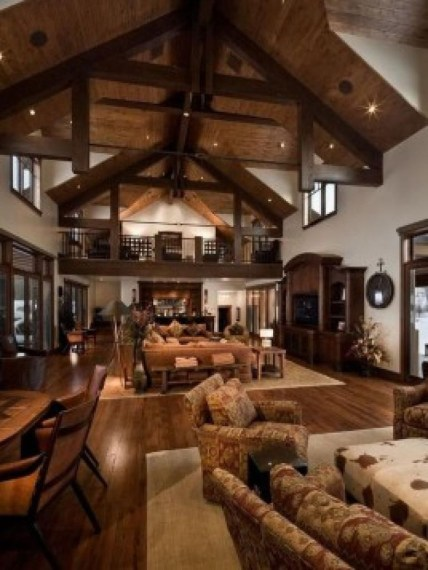 Fabulous Home Design Ideas With Wooden Accent 45