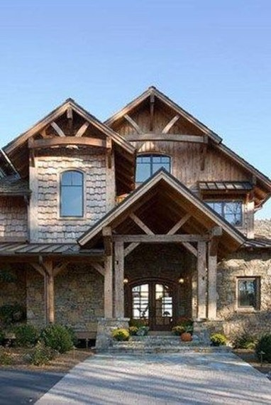 Fabulous Home Design Ideas With Wooden Accent 48