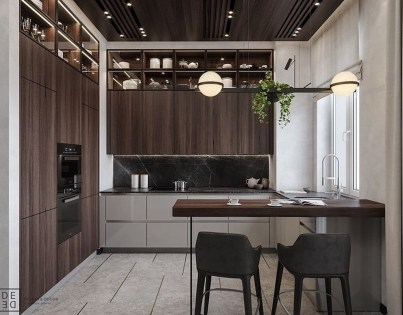 Fabulous Home Design Ideas With Wooden Accent 51