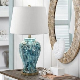 Fancy Living Room Decor Ideas With Ginger Jar Lamps 10