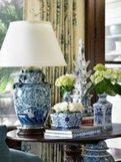 Fancy Living Room Decor Ideas With Ginger Jar Lamps 17