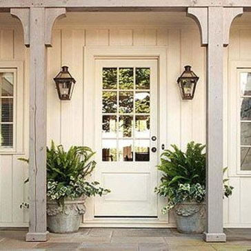 Fascinating Farmhouse Porch Decor Ideas 11