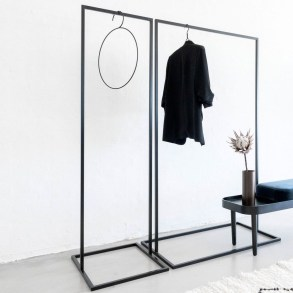 Stunning Clothes Rail Designs Ideas 15