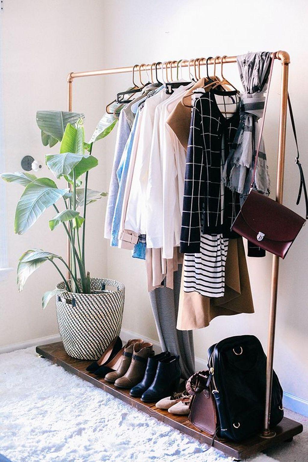 Stunning Clothes Rail Designs Ideas 31