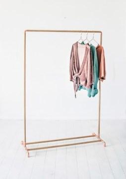 Stunning Clothes Rail Designs Ideas 33