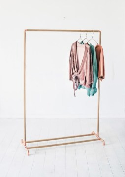 Stunning Clothes Rail Designs Ideas 33