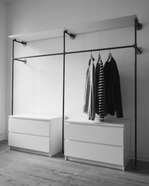 Stunning Clothes Rail Designs Ideas 41