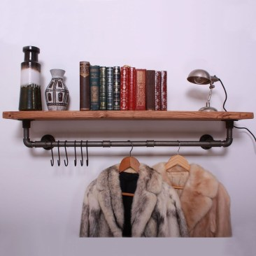 Stunning Clothes Rail Designs Ideas 45