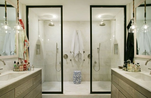 Awesome Bathroom Shower Ideas For Tiny House 17