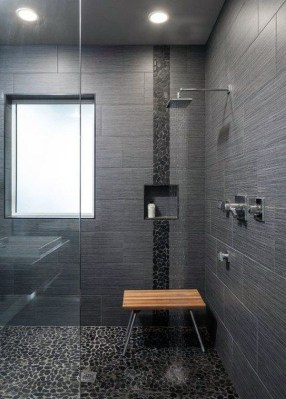 Awesome Bathroom Shower Ideas For Tiny House 33