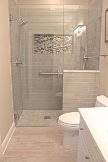 Awesome Bathroom Shower Ideas For Tiny House 36