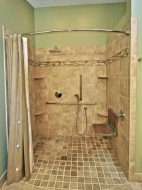 Awesome Bathroom Shower Ideas For Tiny House 51