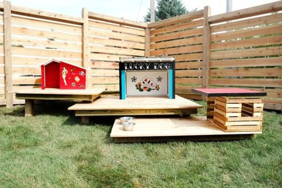 Comfy Diy Backyard Projects Ideas For Your Pets 50