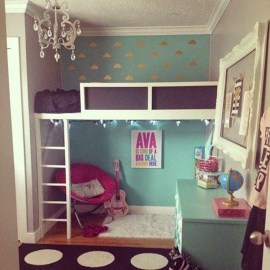 Cozy Bookcase Ideas For Kids Room 02