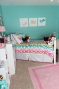 Cute Love Blue Ideas For Teenage Bedroom 01