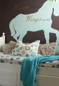 Cute Love Blue Ideas For Teenage Bedroom 06