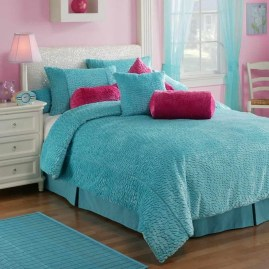 Cute Love Blue Ideas For Teenage Bedroom 23
