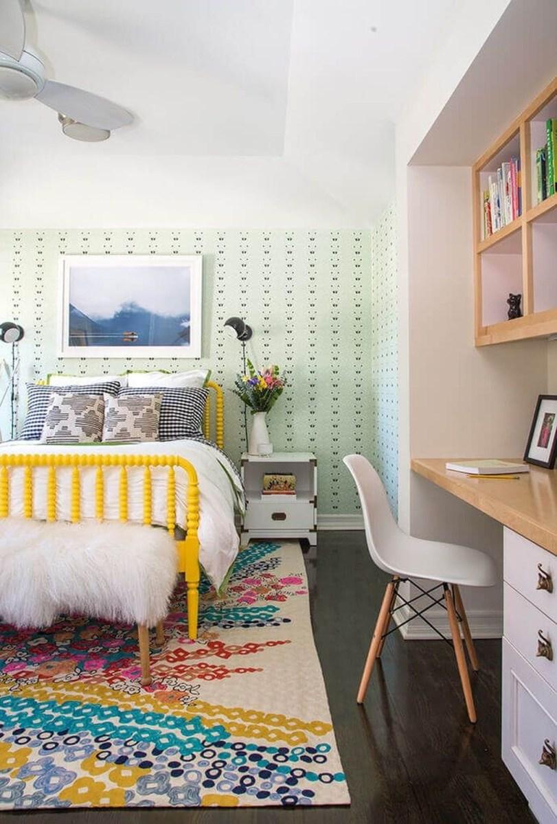 Cute Love Blue Ideas For Teenage Bedroom 26