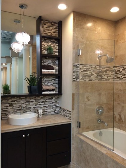 Inexpensive Small Bathroom Remodel Ideas On A Budget 37