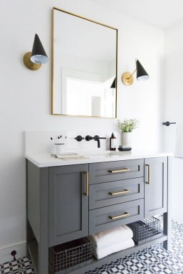Newest Guest Bathroom Decor Ideas 27