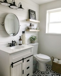 Newest Guest Bathroom Decor Ideas 37