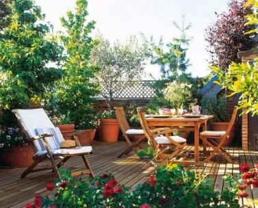 Stunning Roof Terrace Decorating Ideas That You Should Try 02