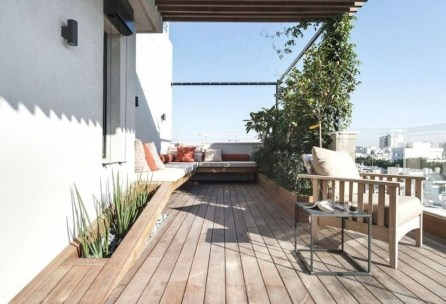 Stunning Roof Terrace Decorating Ideas That You Should Try 03