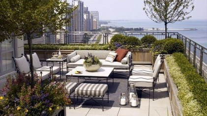 Stunning Roof Terrace Decorating Ideas That You Should Try 29