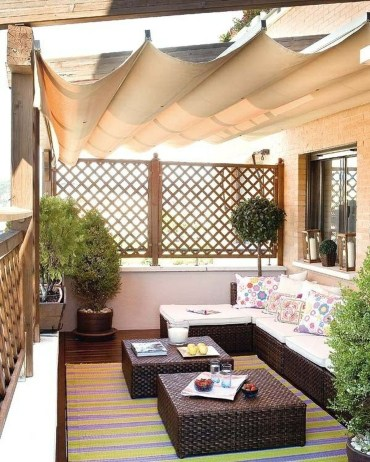 Stunning Roof Terrace Decorating Ideas That You Should Try 44