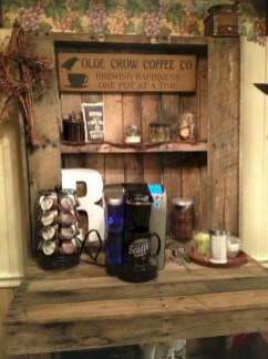 Affordable Diy Mini Coffee Bar Design Ideas For Home Right Now 18