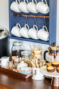 Affordable Diy Mini Coffee Bar Design Ideas For Home Right Now 30